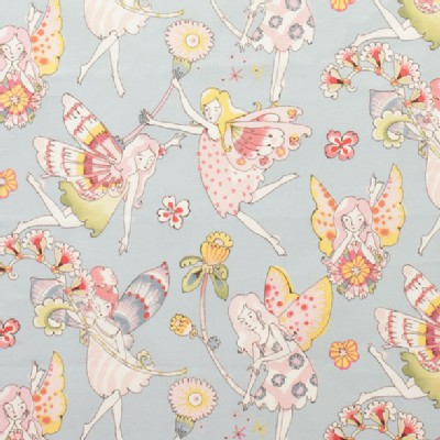 Alexander Henry Fabrics - Everyday Eden - Flower Fairies in Blue