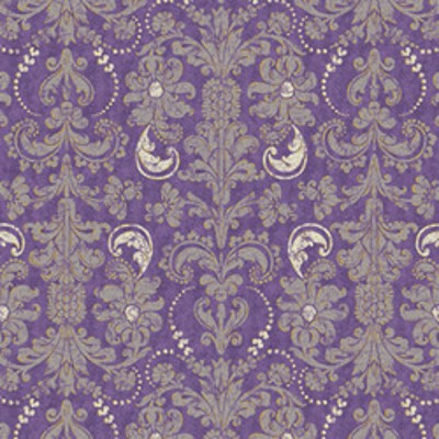 Andover - French Twist - Damask in Purple
