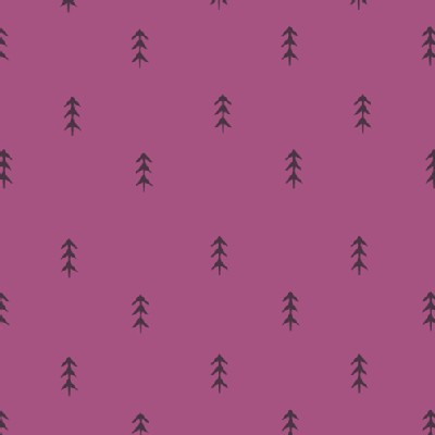 Art Gallery Fabrics - AGF Collection - Autumn Vibes - Simple Defoliage in Violet