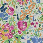 Art Gallery Fabrics - AGF Collection - Indigo and Aster - La Floraison  in Lit