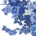 Art Gallery Fabrics - AGF Collection - In Blue - Bloesem in Royal