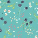 Art Gallery Fabrics - AGF Collection - KNITS - Lavish - Blossom Swale in Calm