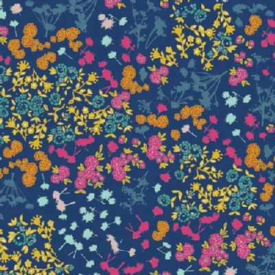 Art Gallery Fabrics - Fusion - Floret Stains in Abloom