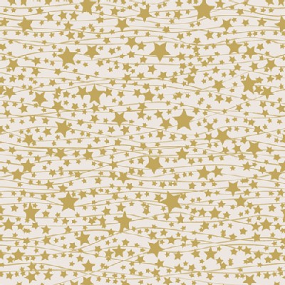 Art Gallery Fabrics - Holiday - Little Town - Twinkle Stars in Cream