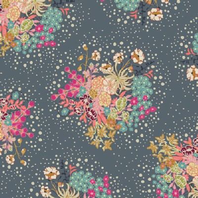 Art Gallery Fabrics - Knits - Indie Folk - Powder in Bloom