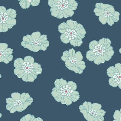 Art Gallery Fabrics - NouvElle - Falling in Cloudberry