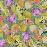 Art Gallery Fabrics - Sage - Cactus Flora in Lily