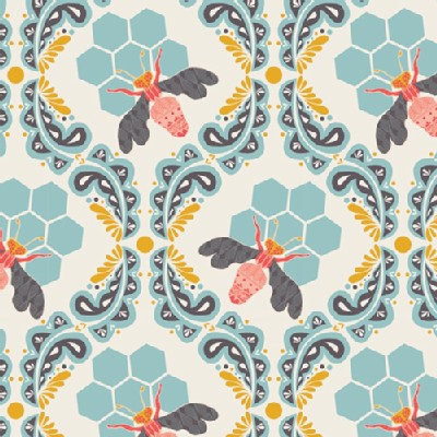 Art Gallery Fabrics - Sweet As Honey - Bee Sweet in Morning