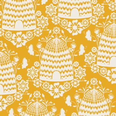 Art Gallery Fabrics - Sweet As Honey - Honey House in Sunflower