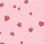 Birch Fabrics - Knits - Everyday Party - Strawberry in Pink