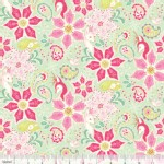 Blend Fabrics - Holiday - Christmas Dear - Poinsettia in Mint