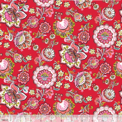 Blend Fabrics - Riding Hood - Babushka in Red