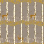 Blend Fabrics - Timber and Leaf - Fawn in Birch Grey