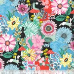 Blend Fabrics - Wonderland - Garden of Wonder in Blue
