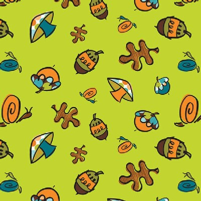 Camelot Fabrics - Frolicking Forest - Forest Floor in Green