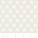 Camelot Fabrics - Heavy Metal - Stars in Silver Metallic