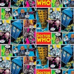 Character Prints - Dr Who - BBC Doctor Who Comics in Multi