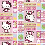 Character Prints - Hello Kitty - Sanrio Hello Kitty Patchwork in Pink