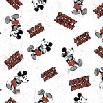 Character Prints - Mickey - Disney Mickey Comic Character Toss in Multi