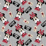 Character Prints - Mickey - KNIT - Designed by Minnie in Gray