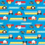 Character Prints - Mickey - Do You Tsum Tsum in Blue
