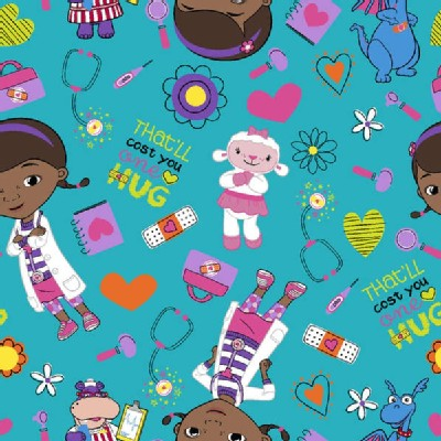 Character Prints - Other Characters - Doc McStuffins in Blue