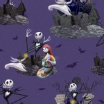 Character Prints - Other Characters - Nightmare Before Christmas in Purple