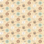 Character Prints - Other Characters - Bambi Badges in Tan