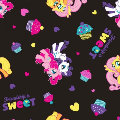 Character Prints - Other Characters - My Little Pony Friendship in Black