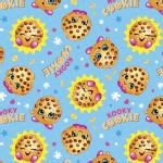 Character Prints - Other Characters - Shopkins Cookie in Blue