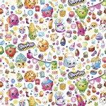 Character Prints - Other Characters - Shopkins Party in White