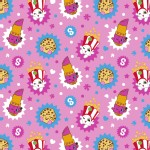 Character Prints - Other Characters - KNIT - Shopkins Toss in Pink