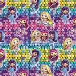 Character Prints - Other Characters - Little Charmers Girls Ombre in Sequins