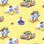 Character Prints - Princess - Snow White in Yellow