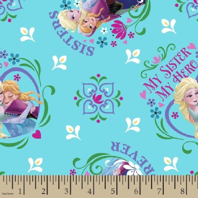 Character Prints - Princess - Frozen - My Sister My Hero in Blue
