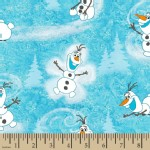 Character Prints - Princess - Olaf in Blue