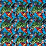 Character Prints - Super Heroes - Marvel Avengers Character Toss in Multi