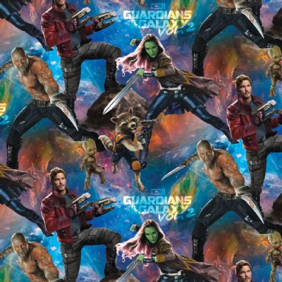 Character Prints - Super Heroes - Guardians of the Galaxy in Blue