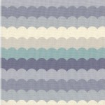 Cotton And Steel - CS Collection - Panorama Scallops in Arctic