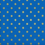 Cotton And Steel - Wonderland - Caterpillar Dots in Cobalt Metallic