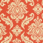 Free Spirit - Aviary 2 - Damask in Saffron