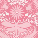 Free Spirit - Garden Divas - Dragonfly Moon in Blush