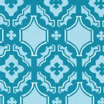 Free Spirit - Little House Mod - Mosaic in Teal