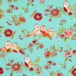 Free Spirit - Love And Joy - Birds in Aqua