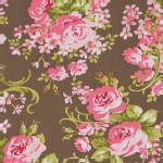 Free Spirit - Pirouette - Cabbage Rose in Mocha
