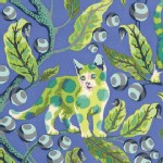Free Spirit - Tabby Road - Disco Kitty in Blue Bird