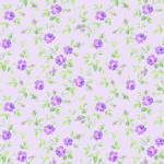 Lakehouse Drygoods - Sausalito Cottage - Tiny Floral in Lavender