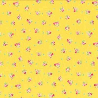 Lecien - Flower Sugar 2013 - Small Roses in Yellow