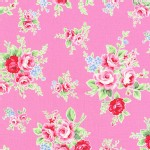Lecien - Flower Sugar 2013 Fall - Main - Floral in Pink