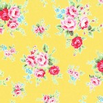 Lecien - Flower Sugar 2013 Fall - Main - Floral in Yellow